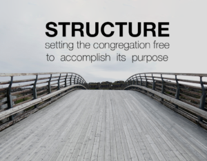 Structure: Setting The Congregation Free to Accomplish Its Purpose