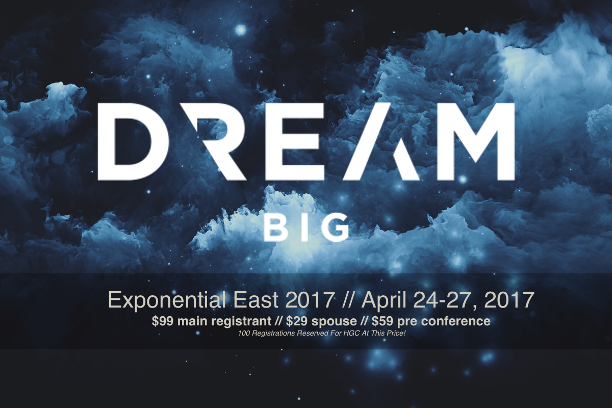 Exponential and Leadership Network Gathering Pricing